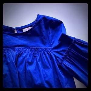 Royal Blue Girl's Top